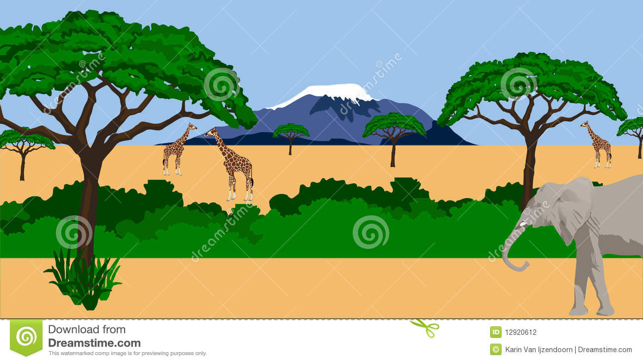 Kilimanjaro Clip Art.
