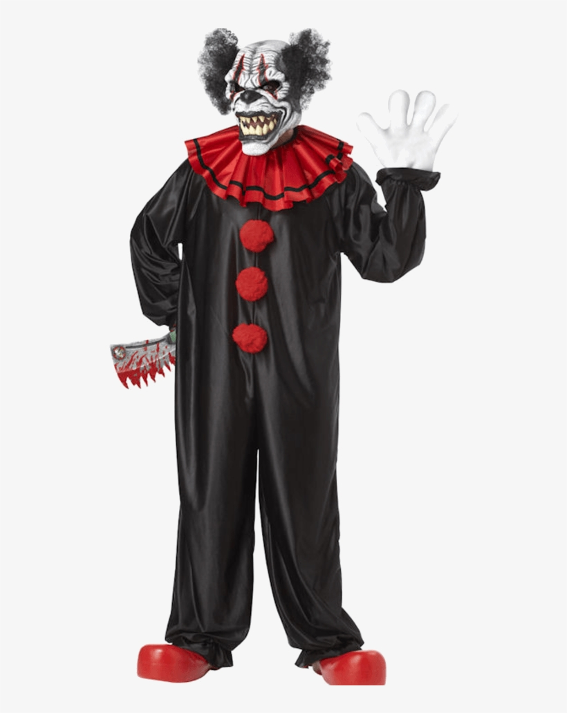 Scary Clown Png.