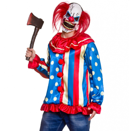 Krazy Killer Clown Halloween Costume.