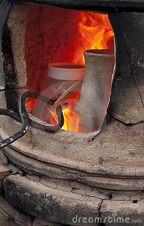 Pottery Kiln Royalty Free Stock Photos Image 18714078 #j75saB.
