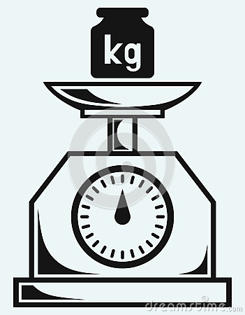 Weight Kilogram Royalty Free Stock Photos.