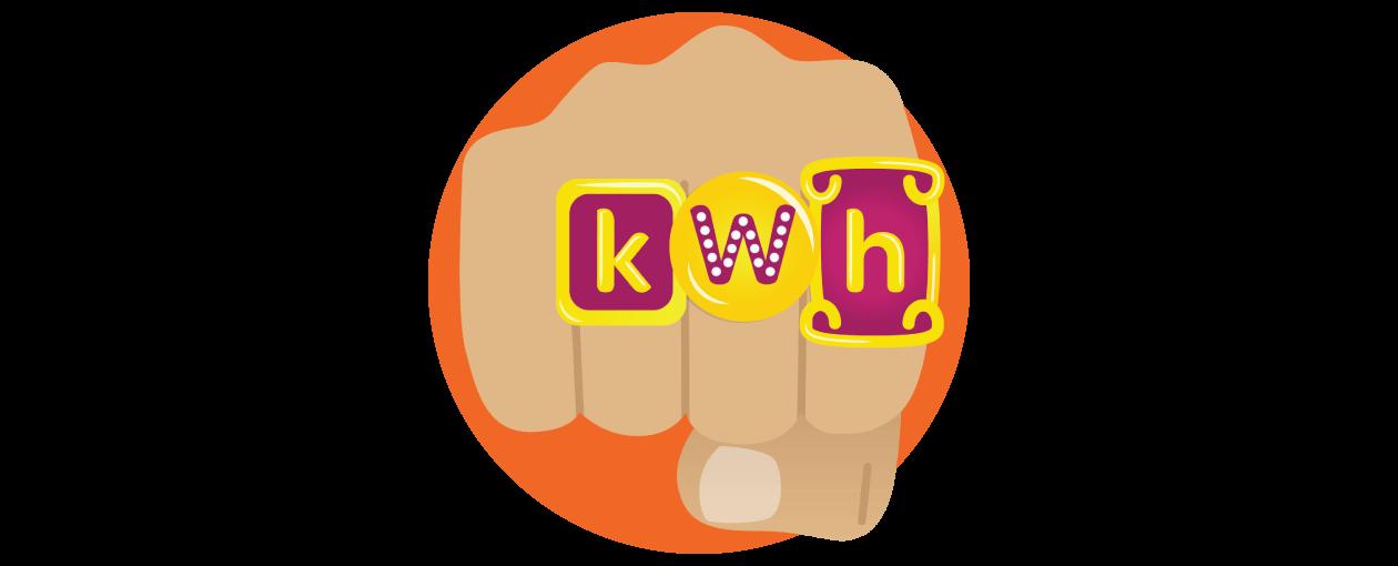 What are kilowatt hours (kWh)?.