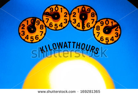 Kilo watt hours clipart #7
