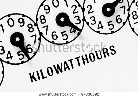 Kilowatt Stock Images, Royalty.