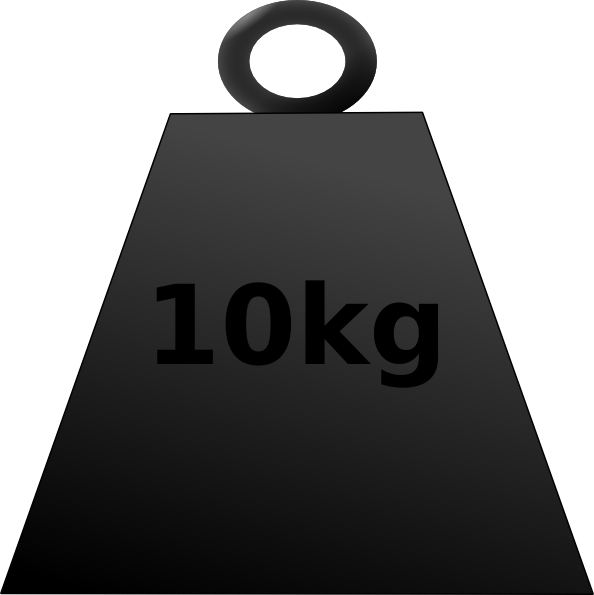 10 Kg Weight Clip Art at Clker.com.