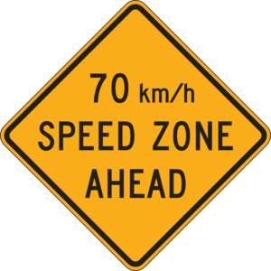 70 Km Per Hour Speed Zone Clip Art at Clker.com.