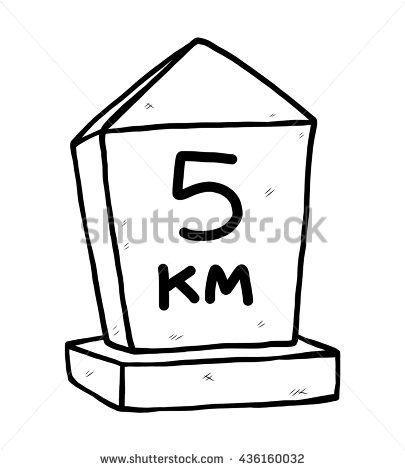 Kilometer Stock Vectors, Images & Vector Art.