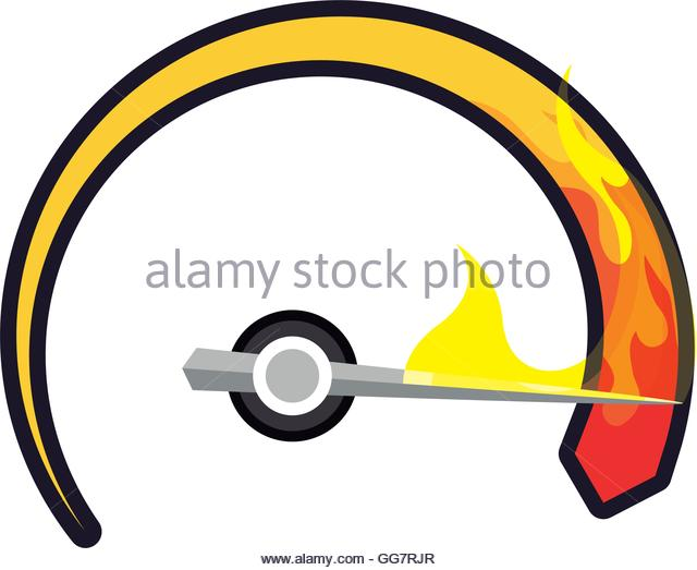 Kilometer display clipart #11
