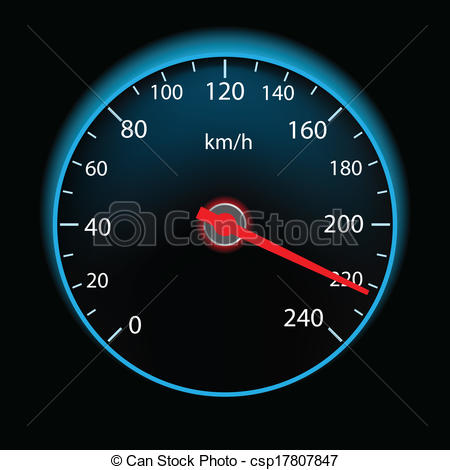 Kilometer display clipart #17