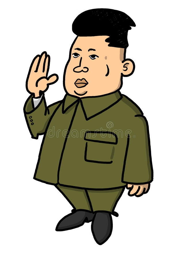 Kim Jong Un Stock Illustrations.