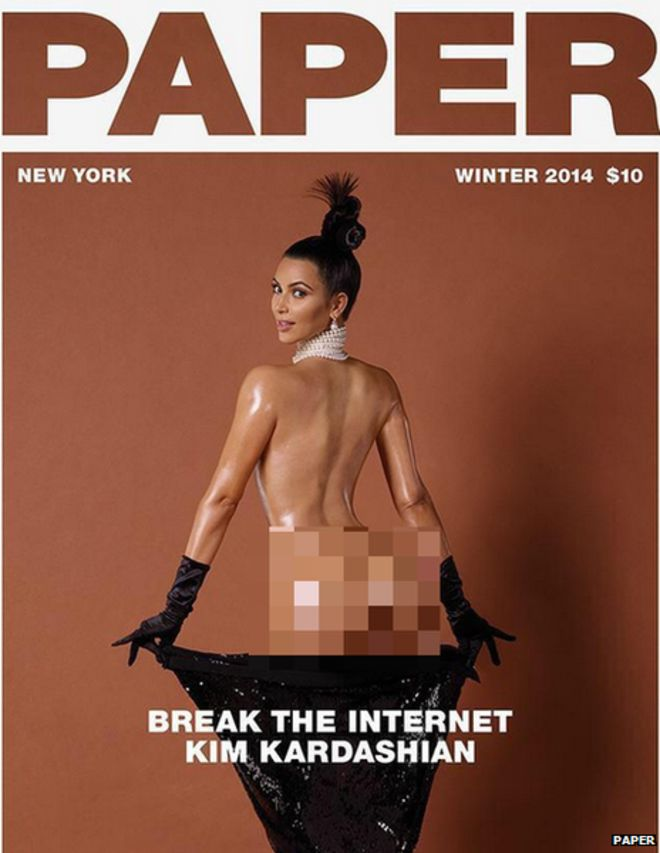 BBCtrending: Did Kim Kardashian #breaktheinternet?.