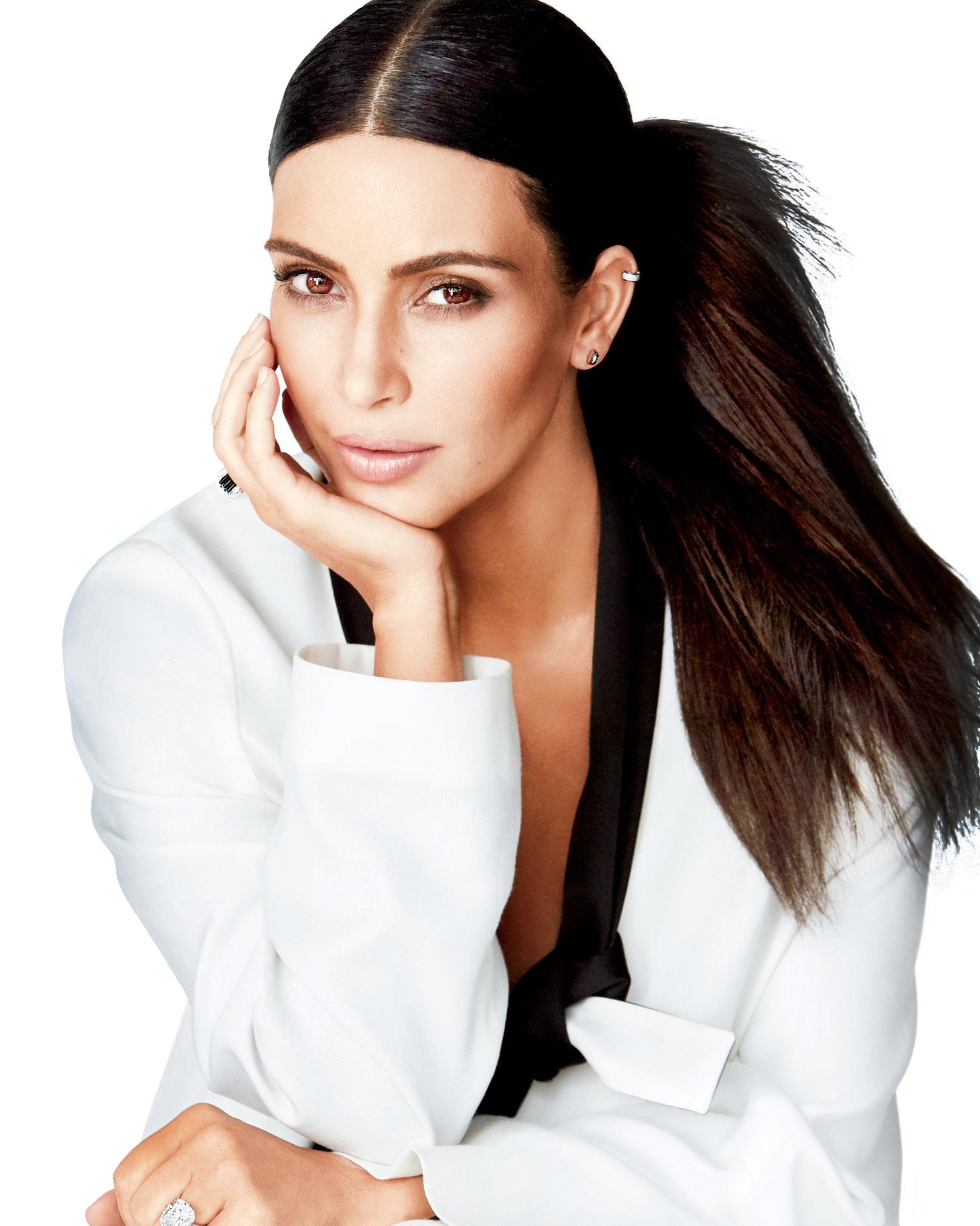 Kim Kardashian PNG Transparent Images.