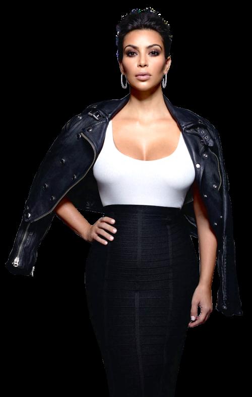 Kim Kardashian PNG Transparent Image.