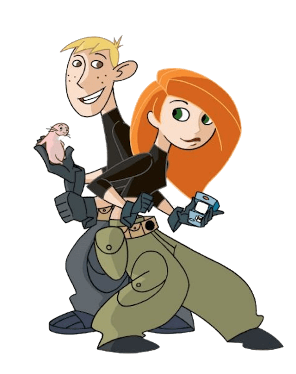Download Free png kim possible and ron stoppable.