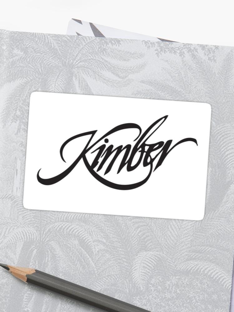 Kimber Logo.