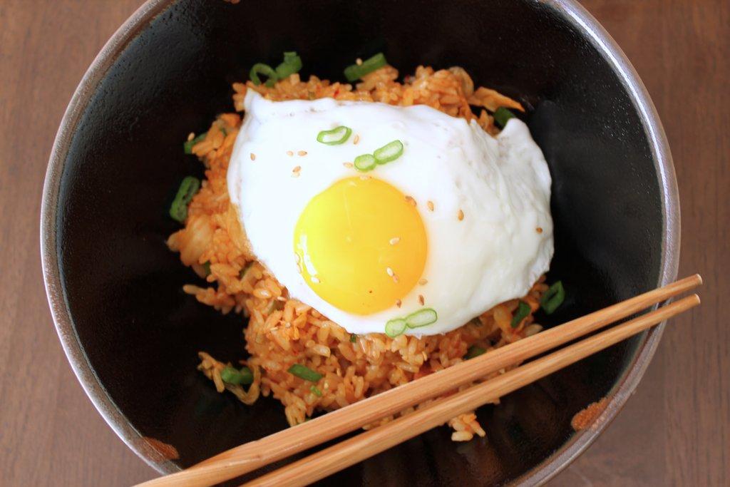 Kimchi Fried Rice Recipe.
