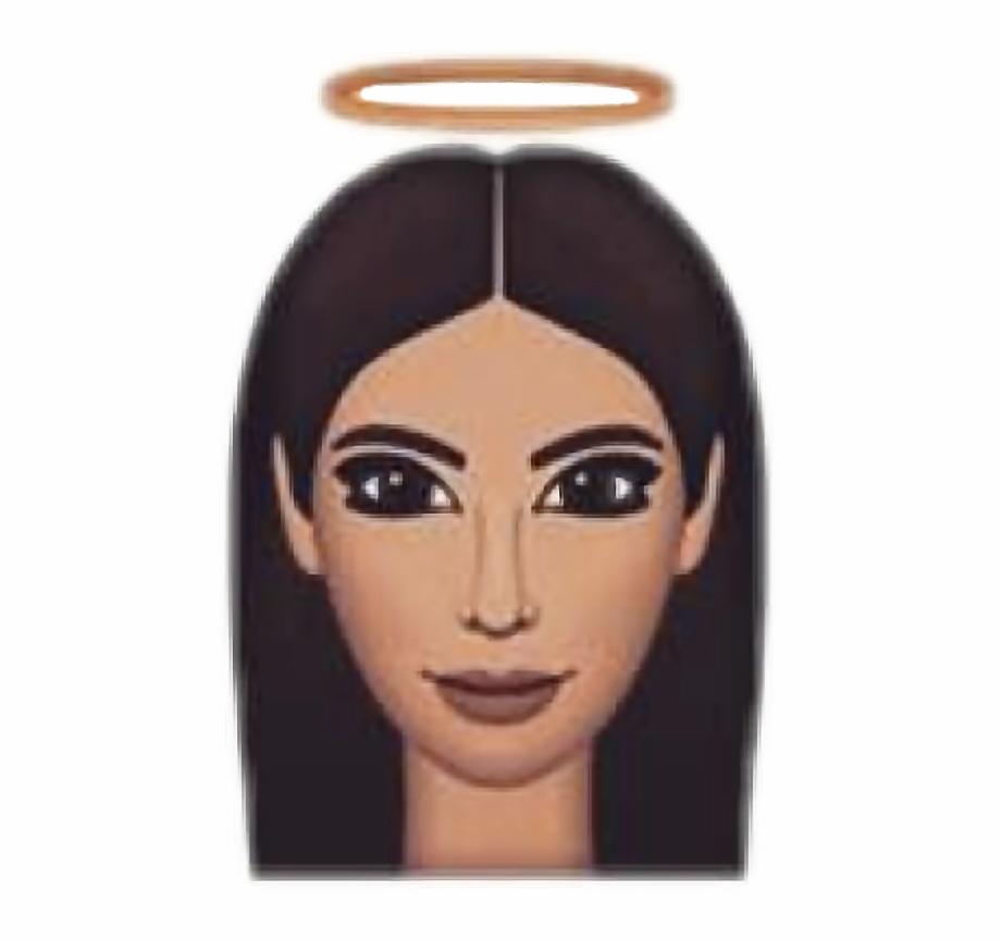 Kimoji Kim Kardashian Kimkardashian Angel Nimb Emoji.