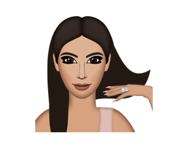 Kim Kardashian's Kimoji Hairstyles Are Totally Inspired By These.
