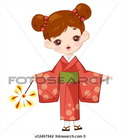 Kimono Clipart.