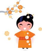 Kimono Clip Art.
