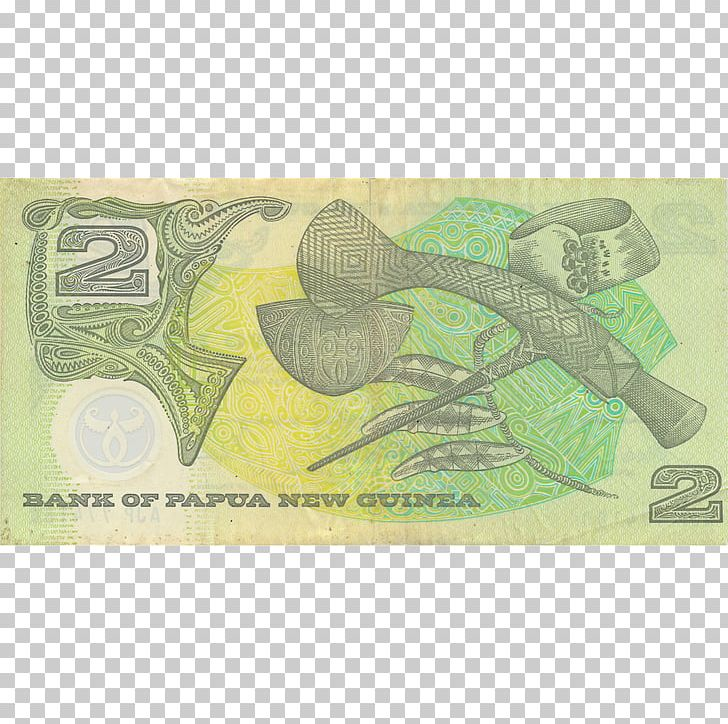 Papua New Guinean Kina Banknote Cash New Guinea Highlands.