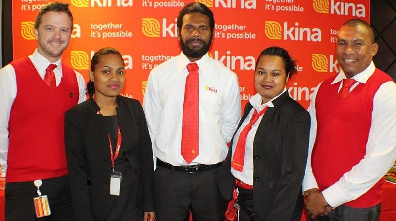 Bringing jobs back to PNG: Kina Bank.