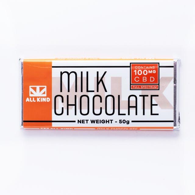 All Kind All Kind 100MG CBD Milk Chocolate Bar.