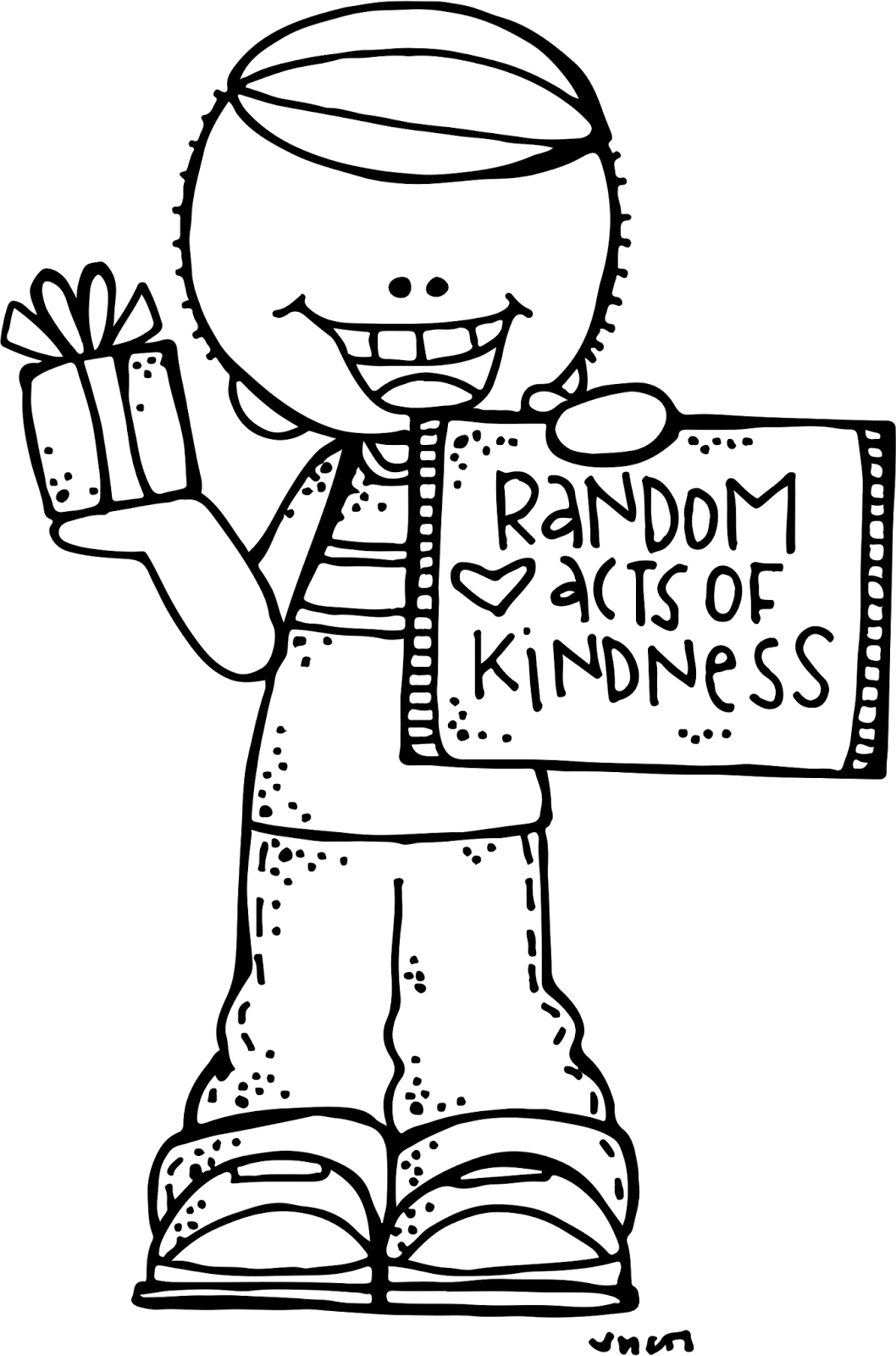 Kind clipart black and white, Kind black and white.