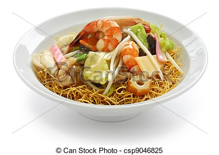 Stock Images of chop suey on deep.