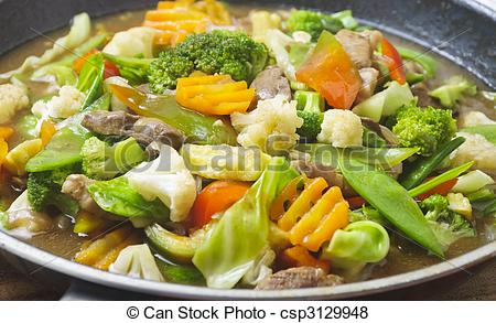 Pictures of Vegetable Dish.