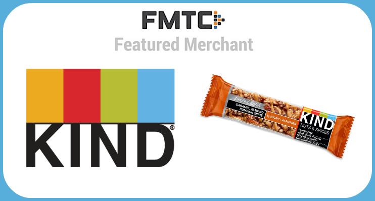 FMTC Featured Merchant: KIND Snacks.