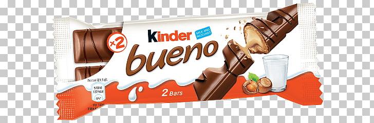 Kinder Bueno, Kinder Bueno chocolate bar pack PNG clipart.