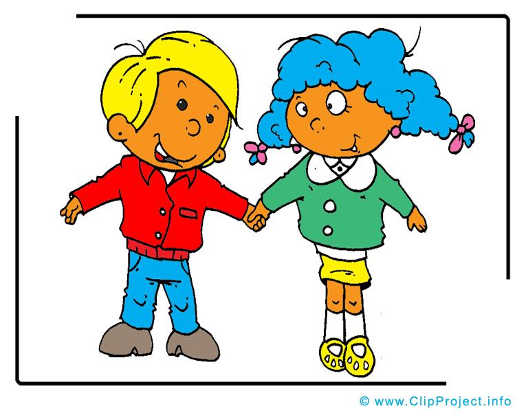 Kinder Cartoon.
