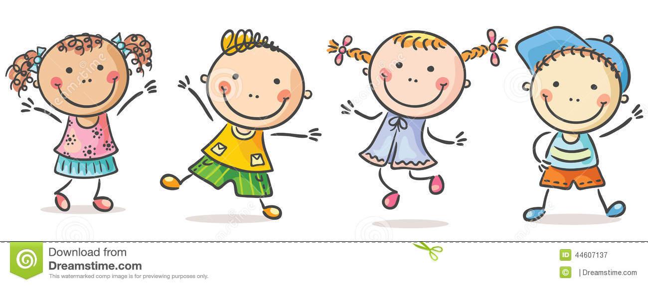 Childrens Stock Illustrations.