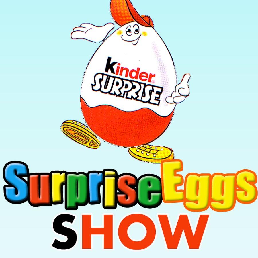 Surprise Eggs SHOW.
