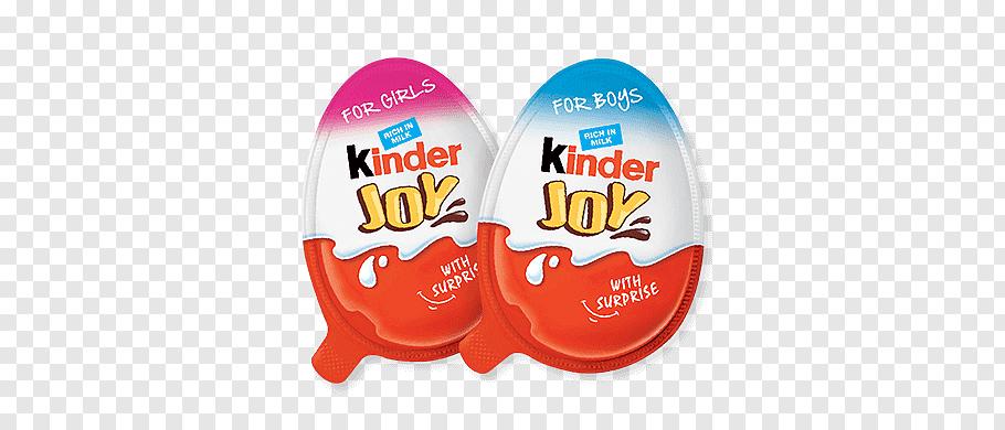 Two Kinder Joy packs, Kinder Joy free png.