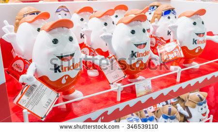 Macau December 1 2015 Ferrero Kinder Stock Photo 346539110.