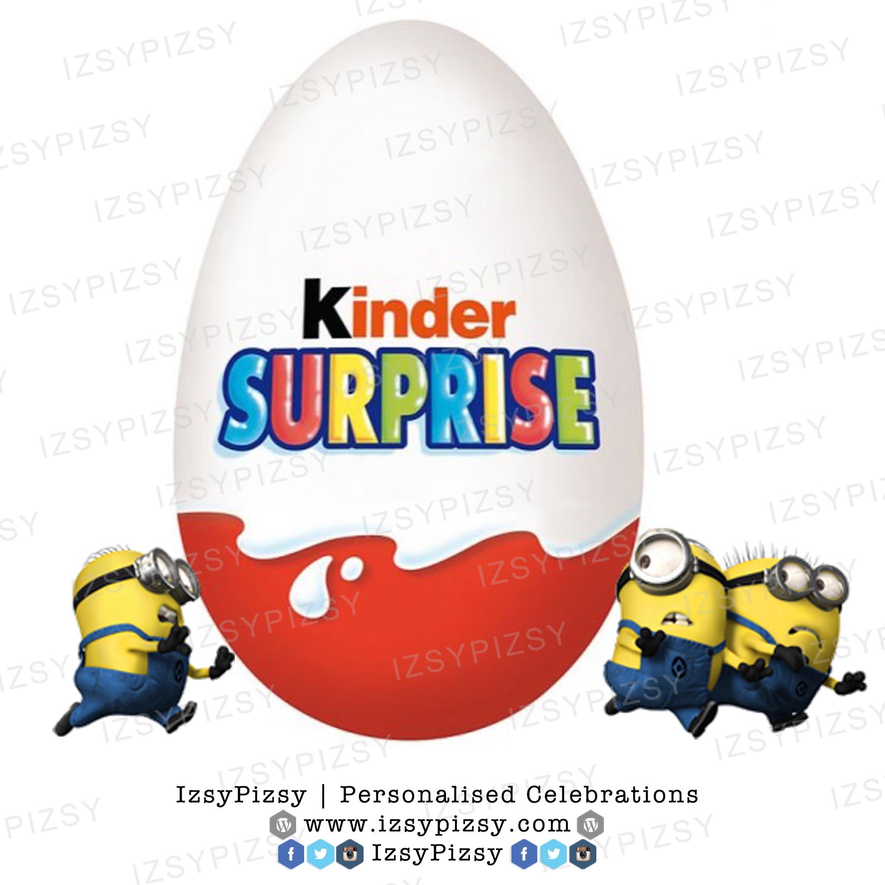 Minion Kinder Surprise Egg.