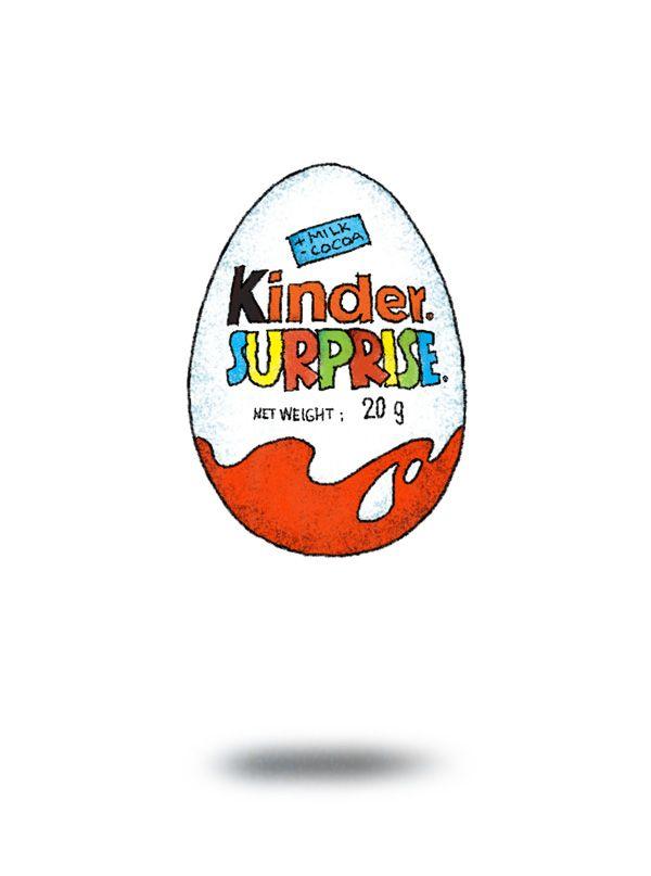 Kinder surprise clipart.