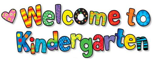 Welcome To Kindergarten Clipart.
