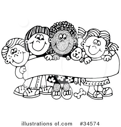 Kindergarten Clipart Black And White.