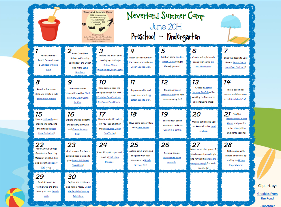 Free Preschool Summer Cliparts, Download Free Clip Art, Free.