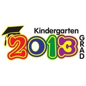Kindergarten Celebration Clip Art.