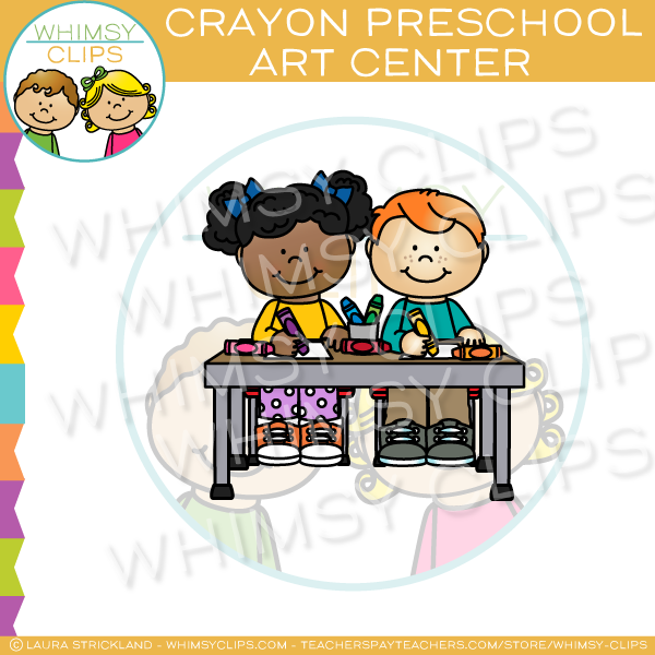 Kindergarten centers clip art , Images & Illustrations.