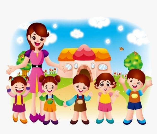 Kindergarten Children, Children Clipart, #113016.