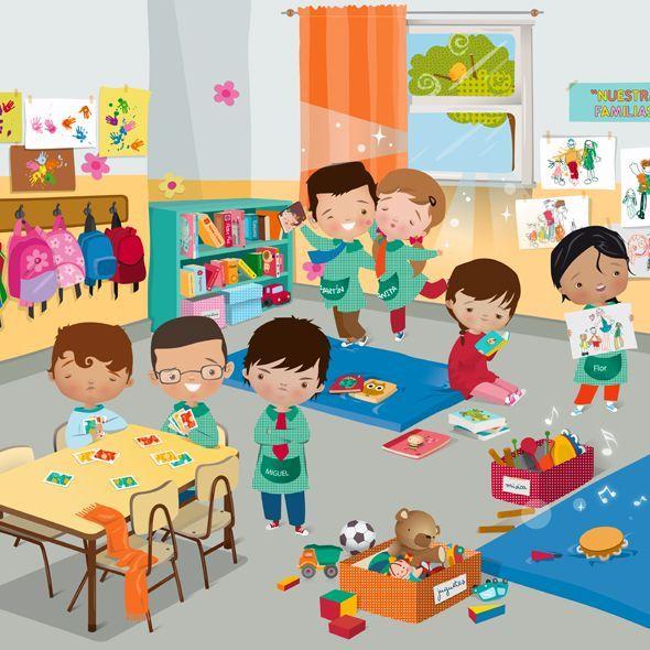 Image result for school classroom cartoon.