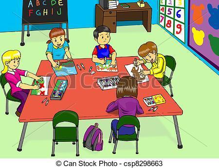 Kindergarten classroom clipart » Clipart Portal.