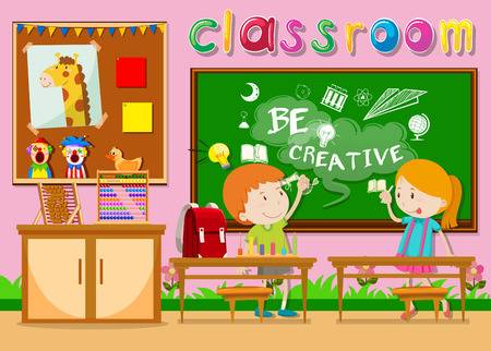 7 802 Kindergarten Classroom Stock Vector Illustration And Royalty.