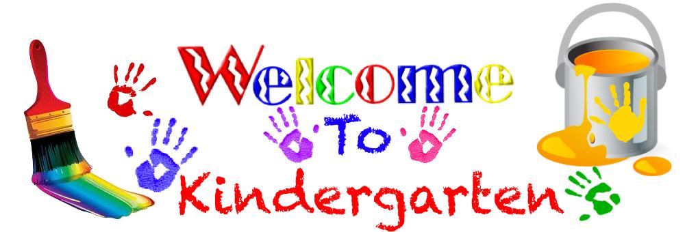 Kindergarten art clipart.
