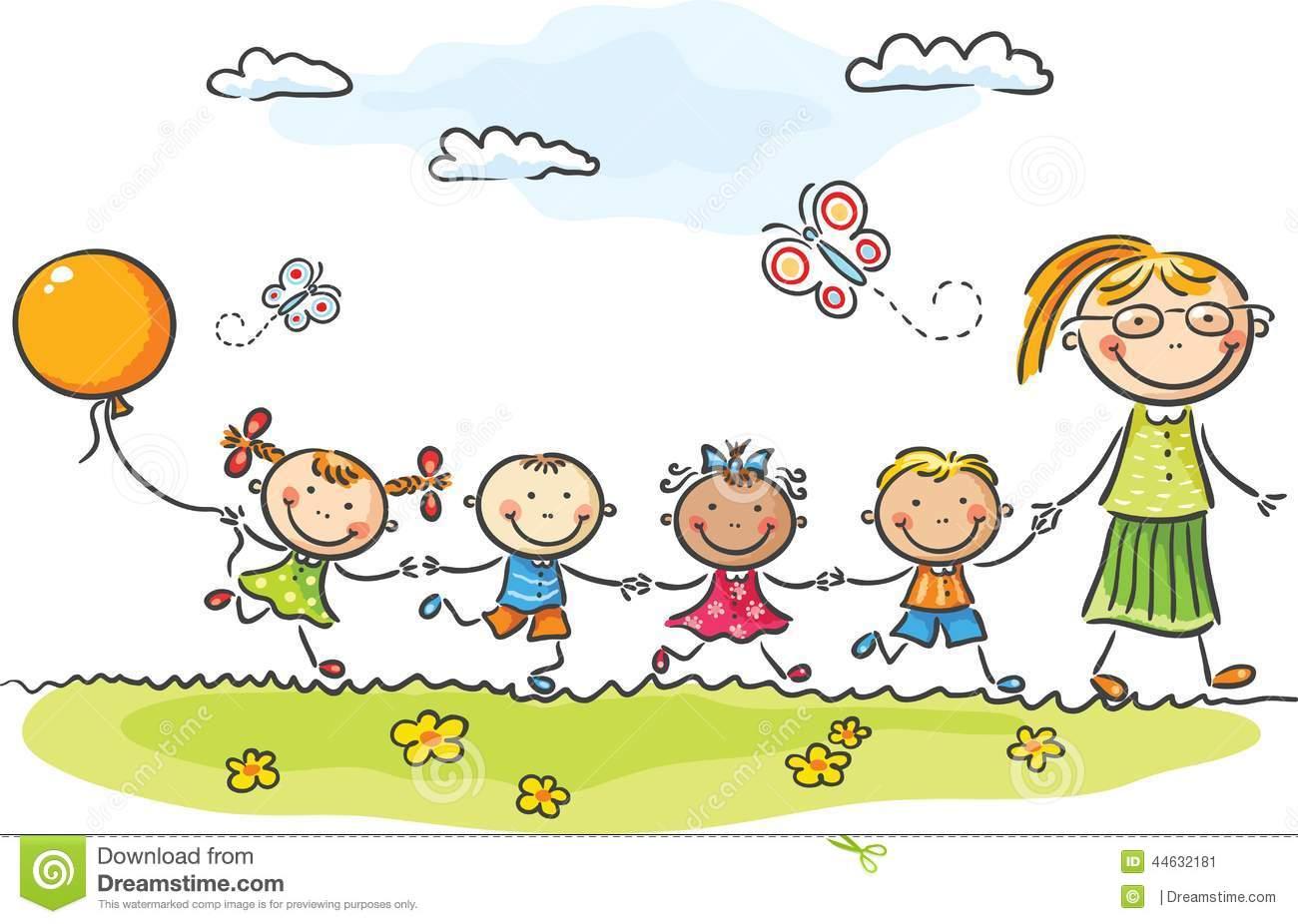 Kindergarten Stock Illustrations.